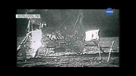 First Moon Landing 1969 (unseen footage in HD) - YouTube