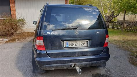 Mercedes-Benz ML 270 CDI 5d 4wd A 4x4 2003 - Used vehicle