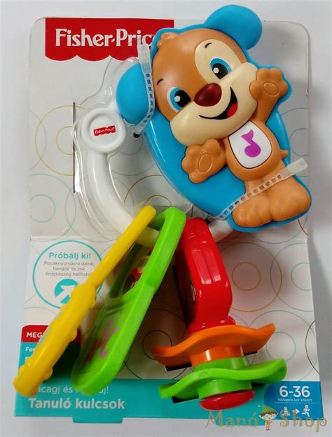 Fisher-Price Tanuló kulcsok (FPH66) - LEGO, Fisher Price