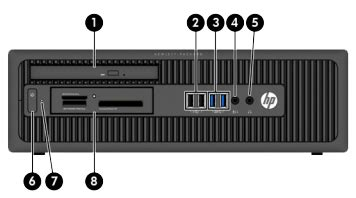 HP EliteDesk 800 G1 Small Form Factor (SFF) PC
