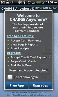 Charge Anywhere allows Nexus S to process mobile payments