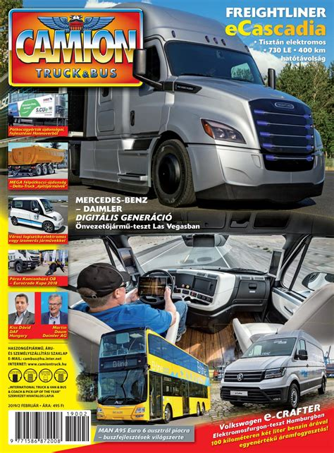Camion Truck&Bus Magazin 2019 / 2 by Camion Truck&Bus