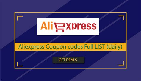 Aliexpress Coupon Codes & Offers Full list 2020