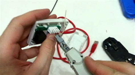 How to wire an RJ45 jack