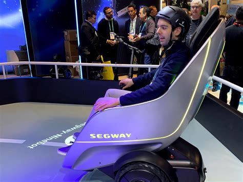I drove Segway's bizarre egg-shaped scooter, and it was