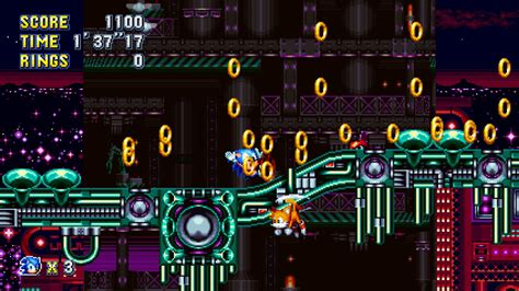 Stardust Speedway Act 3 [Sonic Mania] [Maps]