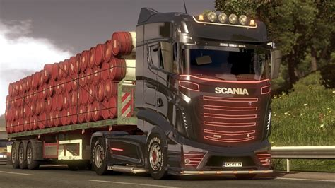 Scania R1000 mod for euro truck simulator 2 with download